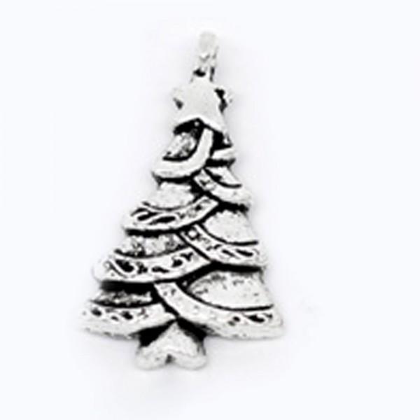 5 Anhänger Geschenk Schneeflocke Kranz Stiefel Hut Weihnachtsbaum Weihnachtsmann