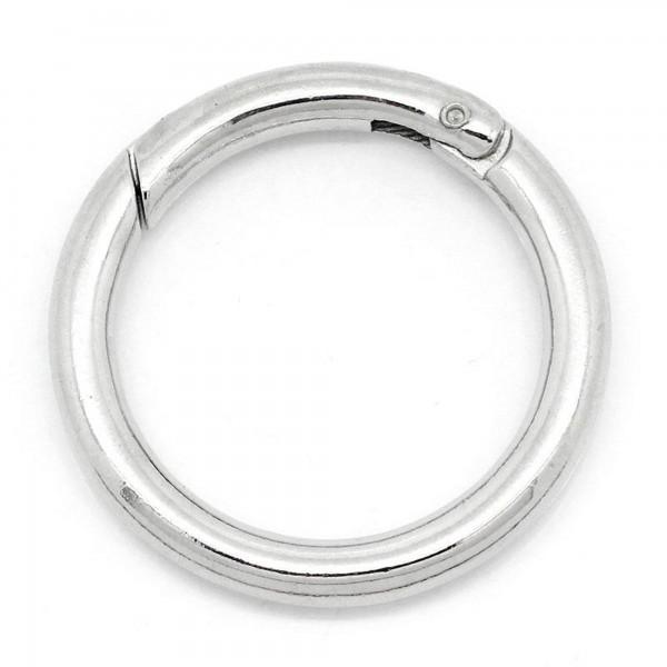 5 Sicherheitsring Verschlüsse 31mm Ring Schlüsselring Heftring Ringverschluss
