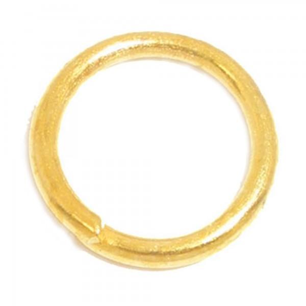 10 Biegeringe offen 1mm x 14mm dick silber gold Anhänger Verbinder