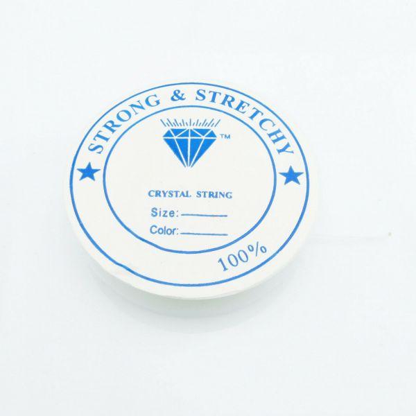 6,5m Silikon Schnur 0,8mm (0,35€ pro m) Gummi elastic Rolle Stretch Band Faden