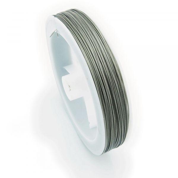 100m Schmuckdraht 0,35mm (0,06€ pro m) silber grau Silberdraht Basteldraht Draht