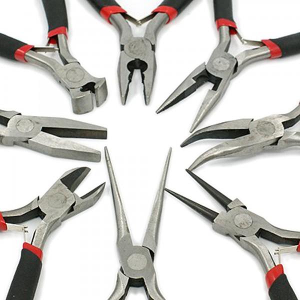 8 Zangen Profi Set für Schmuck Herstellung 8 Teile Bastelwerkzeug Schmuckzange