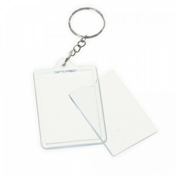 Schlüsselanhänger für 2 Fotos 3,5x5cm Schlüssel Anhänger Bild Photo Geschenk